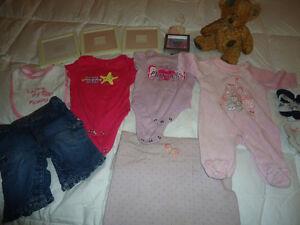 14pcs Newborn Girl Clothing and Stuff