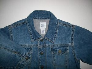 BABY GAP Lined Jean Jacket ~ Size 12 - 18 months ~ Like New