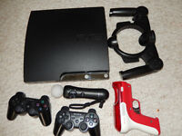 PlayStation 3, 160 GB in excellent condition including 14 games