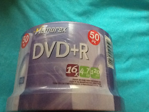 DVD + R BLANK DISKS ALL NEW UNOPENED