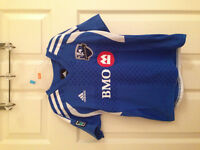Montreal Impact Adidas MLS Youth Replica Home Jersey