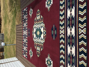 Clean well kept area rug