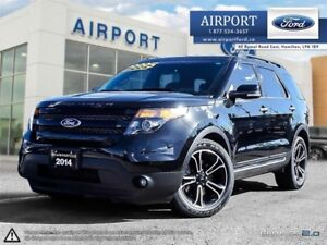 Ford Explorer Sport 4WD with Leather & Navigation 2014