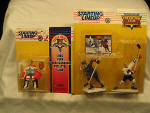 Starting Lineup - Bobby & Brett Hull Collector Club (1996) Kitchener / Waterloo Kitchener Area image 1