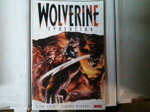 Wolverine Evolution trade paper back comic (collecting Wolverine