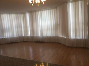 2BR+Den +2Parking-very spacious 1200 Square Ft. Steps from SQ1