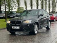 2013 BMW X3 2.0 XDRIVE20D M SPORT 5d 181 BHP All Terrain Diesel Automatic