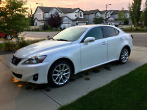 2011 Lexus IS 250 AWD White
