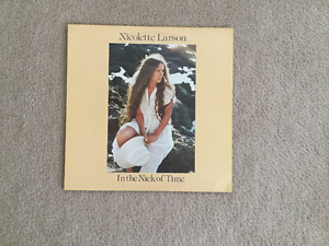 Nicolette Larson In The Nick of Time 33 1/3 RPM vinyl LP