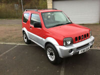 2001 Suzuki Jimny 1.3 4x4 Red over Silver