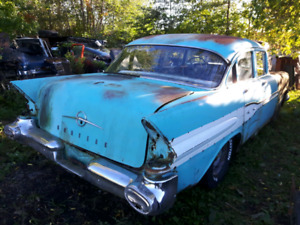 Parts from 1957 Pontiac