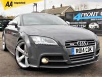2014 AUDI TT TTS 2.0 TFSI QUATTRO LIMITED EDITION 6 SPEED MANUAL PETROL COUPE PE