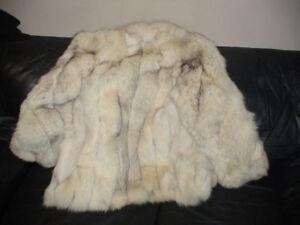 Real Arctic Fox Fur Jacket