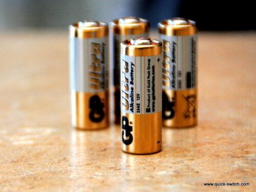 GP 23AE 12V Battery Security Alarm Sensor Door GE 10pcs