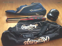 Baseball/Softball Bags and Bats