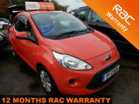 2010 Ford Ka 1.2 Edge - £30 ROAD TAX! FINANCE AVAILABLE AT LOW RATES!