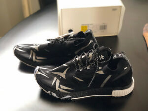 x Juice NMD Racer Black - Size 10.5 Brand New in Box Adidas