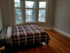 RENT A SPACIOUS FURNISHED ROOM IN CLEAN, QUIET HOME ALL INCL