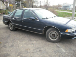 FOR SALE: 1993 Chev Caprice 9C1 Police Car $1000 FIRM OR TRADE