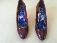 Next court shoes red wine size 6/39