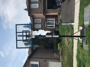 Spalding NBA 52 inch basketball hoop system
