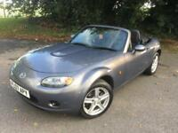 MAZDA MX 5 1.8 CONVERTIBLE GREY 2 DOOR PETROL MANUAL 2007