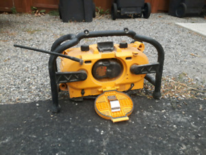 Dewalt Radio/charger with Battery!