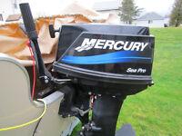 25 HP Mercury Sea Pro