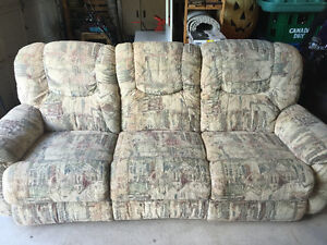 La-z-boy recliner sofa set