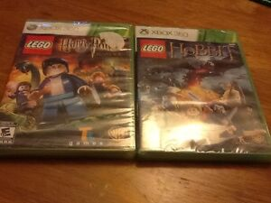 2 LEGO Xbox games, factory sealed, never played