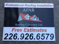 AFORDABLE FREE WRITTEN ROOFING ESTIMATES 226 926 6579