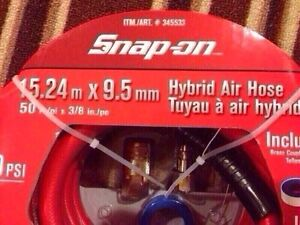 Snap On hybrid air hose. $45.  BRAND NEW in sealed package.