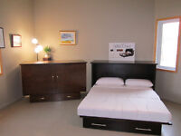 THE AMAZING SLEEP CHEST.....THE WALL BED YOU DON'T INSTALL
