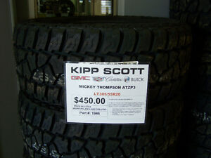 LT305/55R20 Mickey Thompson Baja ATZP3 Tires $450