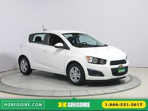 2015 Chevrolet Sonic LT AUTO A/C GR ELECT MAGS BLUETHOOT CAMERA