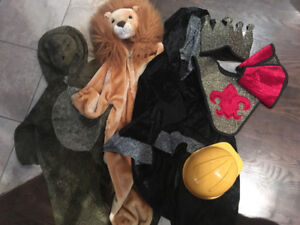 Kids costumes/dress up Size 3/4 and up