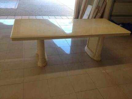 Renovation Sale Mediterranean Dining Table Extendable