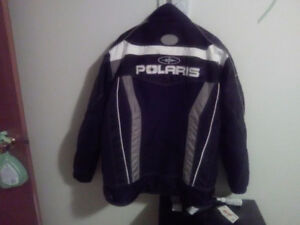 Polaris winter skidoo jacket new condition I have more ads ty