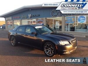 2016 Chrysler 300 S  - Leather Seats -  Bluetooth - $148.42 B/W