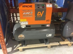 5hp Rotary Screw Compressor (Designed for 100% Continuous Use)