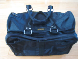 """Jetliner""  Black Travel / Sports Bag"