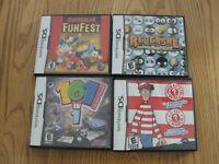 4 jeux DS