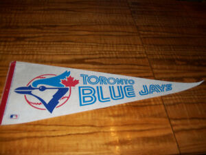 Sports Memorabilia Pennants Vintage Toronto Blue Jays MLB