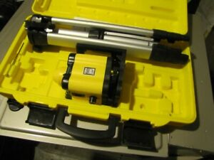 ROTATING LASER LEVEL - NEW IN THE CASE AND NEVER USED