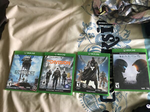 Xbox games for sale (great condition)