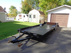 FLATBED EXTENDED TRAILER FOR SALE