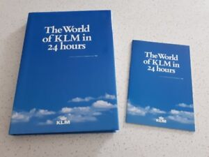 The World of KLM in 24 hours - Hardcover Book