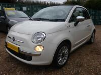 FIAT 500C 0.9 TWINAIR LOUNGE, CLIMATE CONTROL, ONE OWNER 41000 MILES ONLY