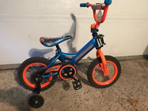 """Vélo enfant 12"""" Nakamura Odysee avec petites roues"""