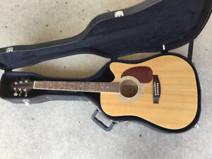 Jerzey vintage guitar and hardcase